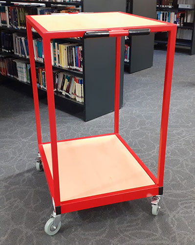 Archive book trolley
